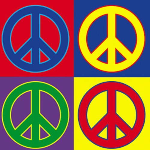 Licenses Products Peace Signs 4 Peace Magnet