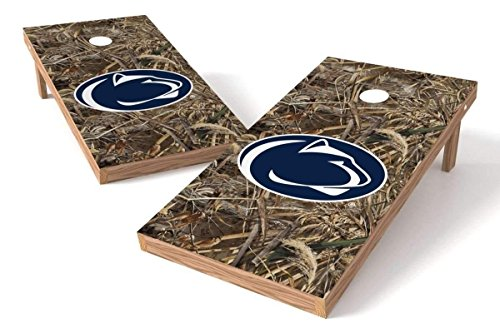 Penn State Nittany Lions 2x4 Cornhole Board Set - Realtree Max-5 Camo by PROLINE
