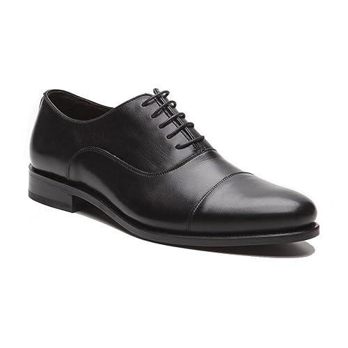 Prime Shoes New York Rahmengenäht Schwarz Box Calf Black