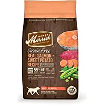 Merrick Grain Free Salmon & Sweet Potato Dry Dog Food, 25 lb.
