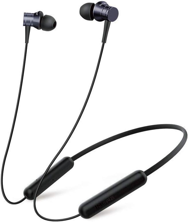 1MORE Auriculares Inalámbricos Bluetooth Piston Fit, Auriculares Intrauditivos Livianos con IPX4 Resistente al Sudor y Micrófono Duradero, Perfecto para Deportes / Correr / Aire Libre,Negro