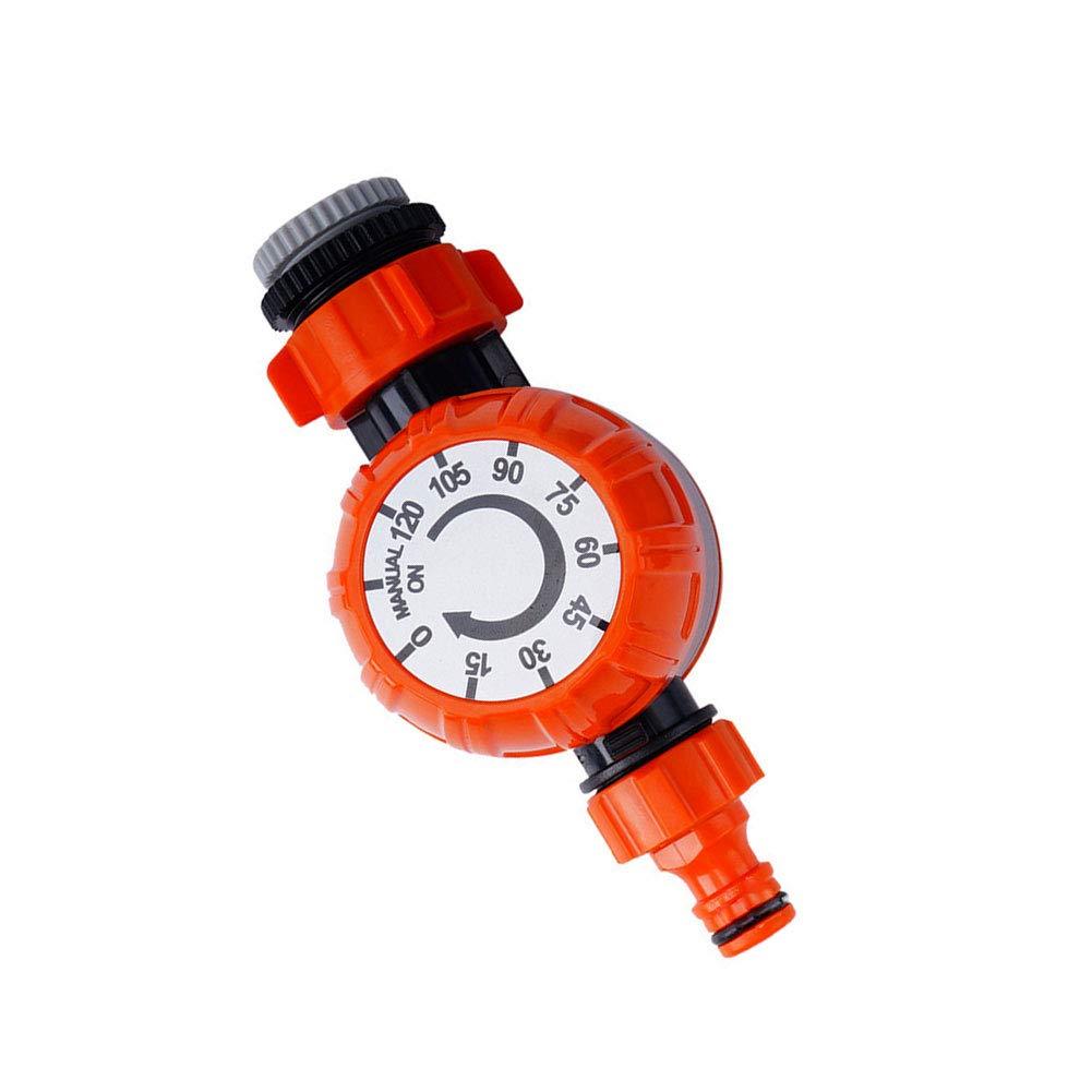 1set ext/érieur Irrigation minuterie num/érique arrosage Minuteur ext/érieur Tuyau darrosage Programmateur dirrigation contr/ôleur orange