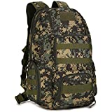 KOALASPORT Outdoor Sport 40L Large Double-Shoulder Multifunction Army Combination Package Travel Bac