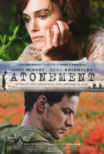 James mcavoy atonement poster