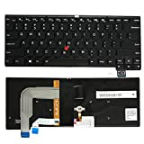 GinTai US Backlight Backlit Keyboard Replacement for Lenovo Thinkpad T460S 00PA452 00PA482 SN20H42364(NOT Fit T460 T460P T470 T470P)