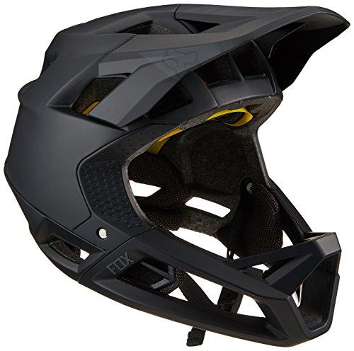 (Fox Racing Proframe Helmet Matte Black, M)