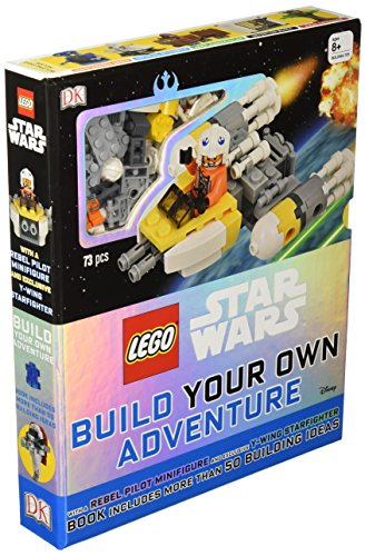 Book cover from LEGO Star Wars: Build Your Own Adventure by Daniel Lipkowitz