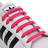kids running - INMAKER No Tie Shoelaces for Kids and Adults, Elastic Shoelaces for Sneakers, Silicone Flat Tieless Running Shoe Laces