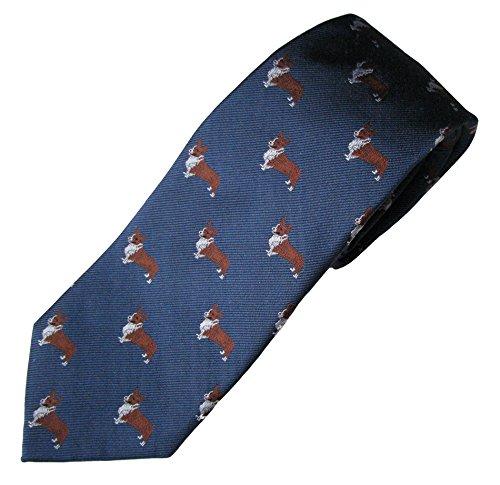 Welsh Corgi Tie (Men's Dog Breed Neck (Corgi Tie)