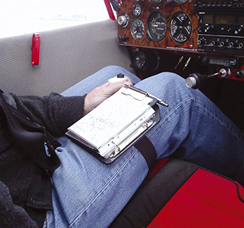 2e5a701289b Design4Pilots Pilot Kneeboard-Organizer noir Piernógrafo Piccolo Profi A6