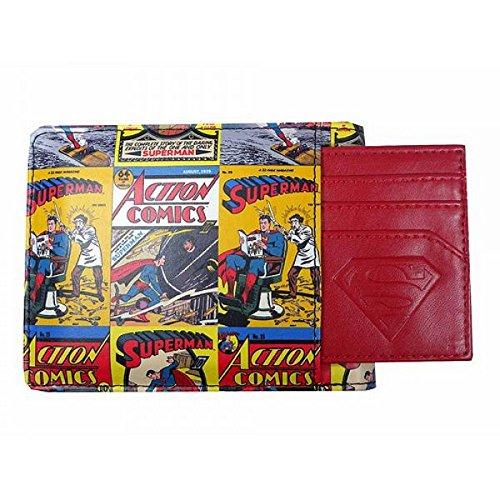 DC Comic - Retro Superman Geldbörse (Superman Action Comics)