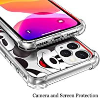 Disney Collection Case Clear For Iphone 11 Pro Max 6 5 Inch Cute Designed Pattern Mickey Mouse Wallpaper Hard Pc Back Cover With 4 Corner Protection Slim Thin Fit Amazon Sg Electronics