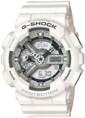 Casio #GA110C-7A G-Shock White Resin Digital - Unisex Watch