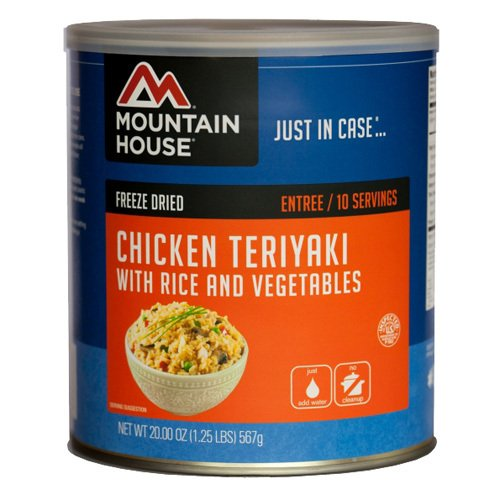 Mountain House Chicken Teriyaki W/Rice Can 30124