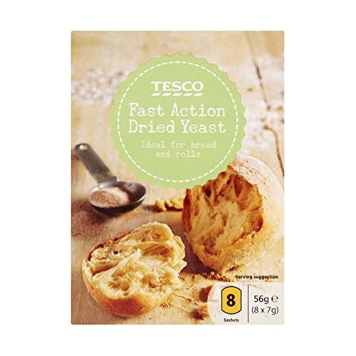 Tesco Fast Action Dried Yeast 8 Sachets 56gm by Tesco