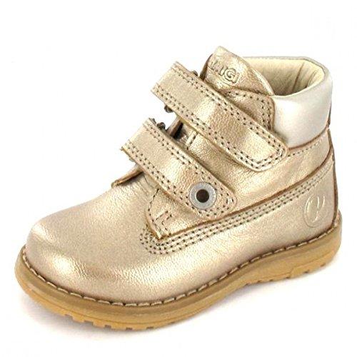 Primigi Velcro Sapato Taupe, Cor: Ouro