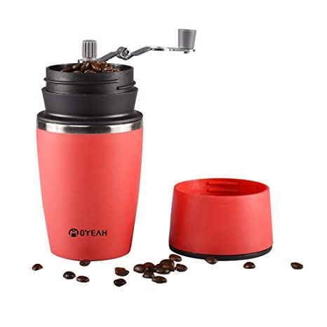 Amazoncom Portable Small Travel Coffee Maker And Coffee Grinder