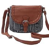 HEYFAIR Women's Retro Canvas Crossbody Purse Shoulder Bag (2)