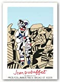 "Inspection of the Territory by Jean Dubuffet 26.75""x19.5"" Art Print Poster"