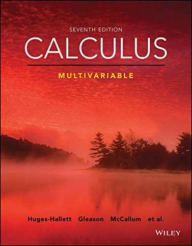 Calculus: Multivariable, 7th Edition