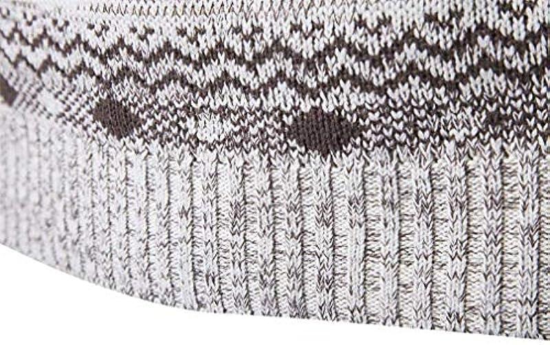 Męski sweter z długim rękawem sweter jesień zima nadruk Casual Troyer Fashion okrągły dekolt kolt sweter z dzianiny: Odzież