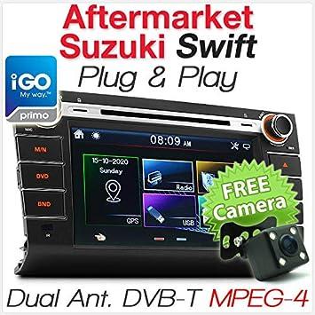 Tunez Suzuki - Reproductor de DVD, GPS, TV, navegador, Radio, Radio de Coche de 20 cm: Amazon.es: Coche y moto