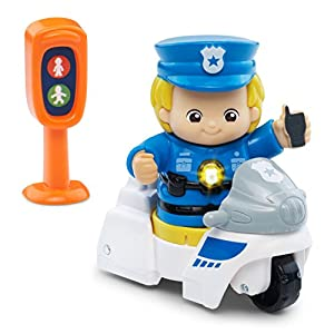 VTech Go! Go! Smart Friends Police Officer Wayne & His Patrol Set