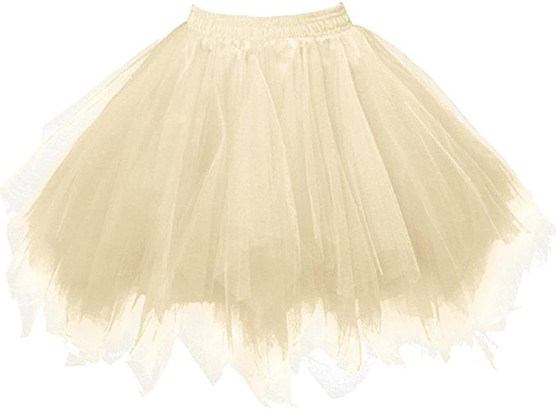 Lenfesh Mini Falda De Ballet Skirt, Mujer Adultos Colores Faldas ...