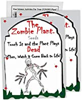 "Zombie Plant Seed Packets (2) Grow Your Real Live Zombie Plant. Watch it""Play Dead"" When Touched! Supplies for Zombie..."