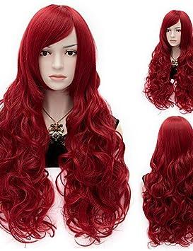 XH@G pelucas sintéticas de alta calidad del pelo de la onda natural de las