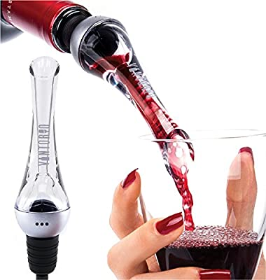Vintorio Wine Aerator Pourer - Premium Aerating Pourer and Decanter Spout