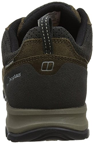 Berghaus Expeditor Active Aq Tech Shoes, Zapatos de Low Rise Senderismo Hombre Multicolor (Brown/black Bj3)