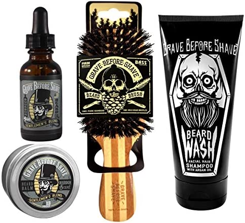Grave Before Shave Beard Gentlemens
