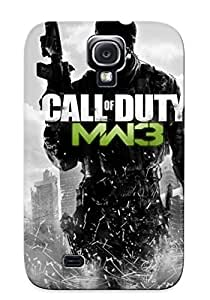 Case Provided For Galaxy S4 Protector Case Call Of Duty Modern Warfare 3 Phone Cover With Appearance