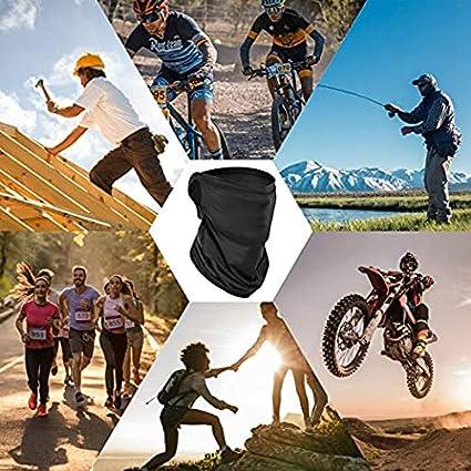 Magic Head Scarf Schwei/ßband f/ür Angeln AiteFeir Bandanas Multifunktionstuch Schal Headwear Neck Gaiter Sturmhaube Motorrad Yoga