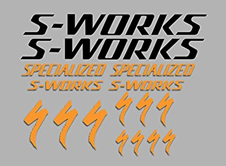 Pegatinas S-Works F36 Vinilo ADESIVI Decal AUFKLEBER КЛЕЙ MTB Stickers Bike