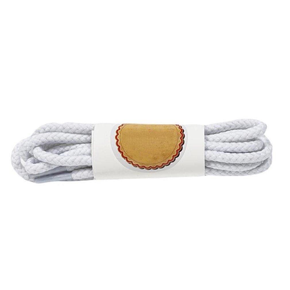 1 Pair Shoe Laces Round Cord Canvas Shoes Unisex Shoelaces Shoe String Strap Shoe Laces White 80cm