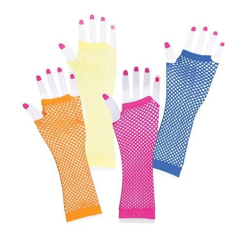 Diva Long Fishnet Wrist Gloves