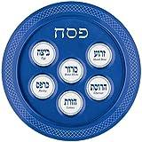 Amscan Blue Melamine Passover Seder Plate
