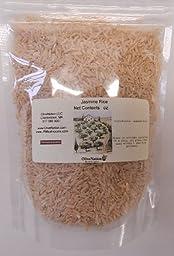 Organic Brown Jasmine Rice 1 lb by OliveNation