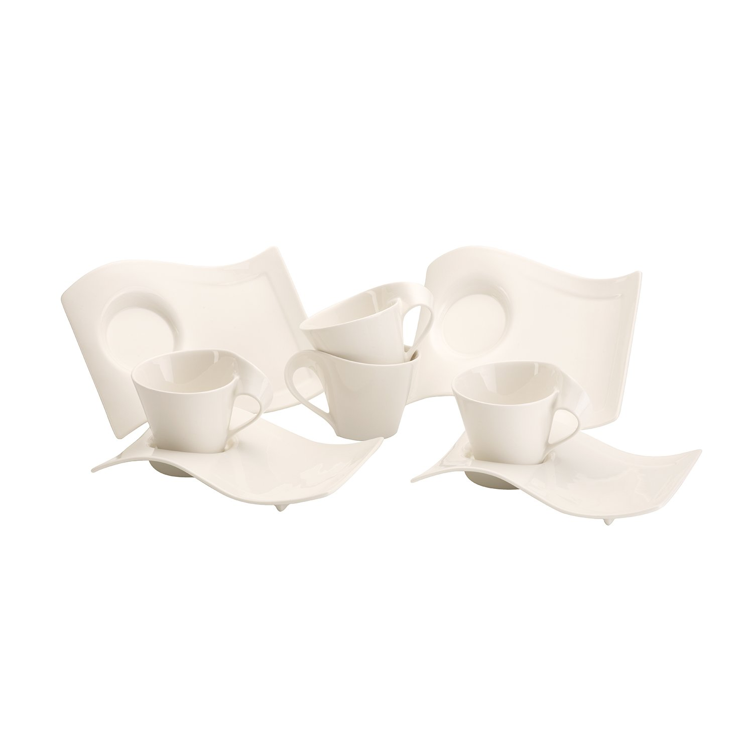 Villeroy and Boch NewWave 8 Piece Cappuccino Set