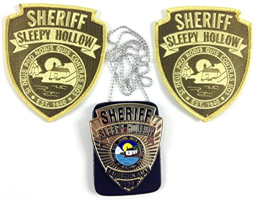 SLEEPY HOLLOW TV Series Sheriff Prop Metal