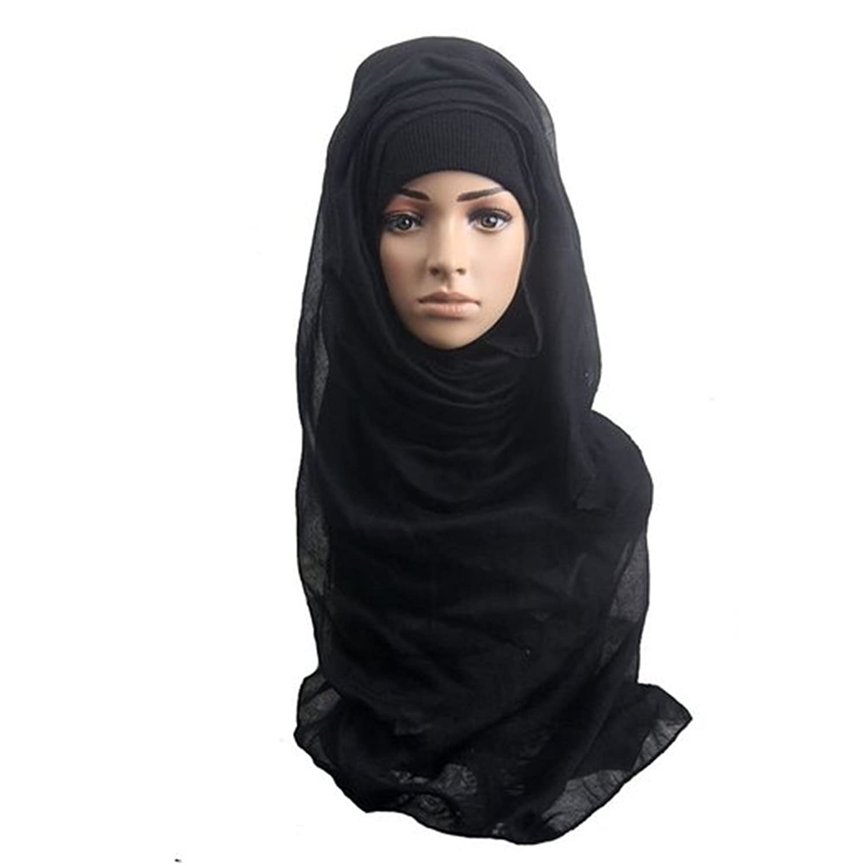 Gotoole Hijab Islamic Neck Cover Cap Muslim Women Shawl Scarf Head Cover Headscarf