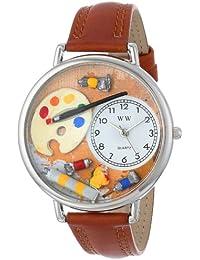 Unisex U0410002 Artist Tan Leather Watch