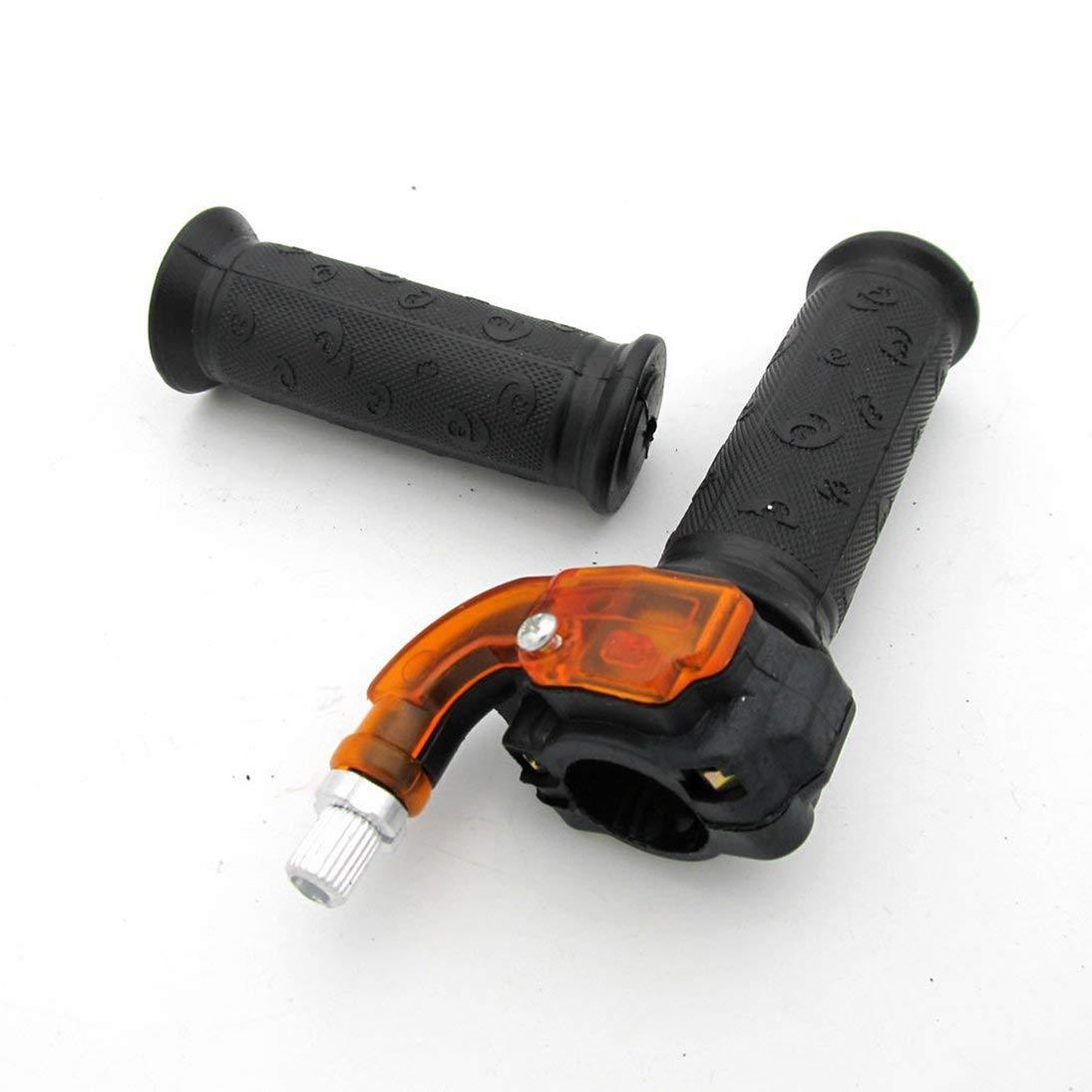 Poign/ée Poign/ée Pince dacc/él/érateur 49cc Pocket Bike Mini Moto Quads Twist Poign/ée dacc/él/érateur Papillon 7//8 22mm