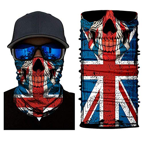 Mask Tube Neck Face Scarf Lower Half Face Motorcycle Bicycle Shield Sun Air Soft Outdoor Biker Riding Masks No.192 ()