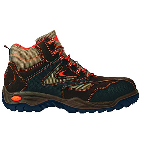 """Cofra 75620–005.w39taglia 39s3src """"Nuovo metallo sicurezza scarpe, colore: marrone"""