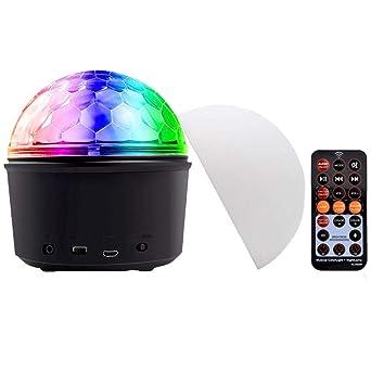 Luz LED de 9 colores con diseño de pelota mágica con Bluetooth ...