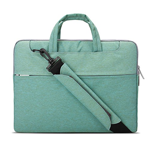 rproof Fabric Laptop Shoulder Bag Notebook Sleeve Case Compatible MacBook Pro 15.4-inch 2012-2015 / Protective 15.6