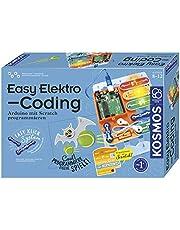 KOSMOS 620523 Easy Elektrische coding. Arduino programmeren met Scratch, Experimenteerkast voor kinderen: Experimentierkasten